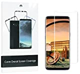 Netgars xbb-398 Galaxy S8 Screen Protector [3-Pack],  [Case Friendly] HD Clear Anti-Scratch Easy to Install for Samsung S8 Screen Protective Film (Clear).
