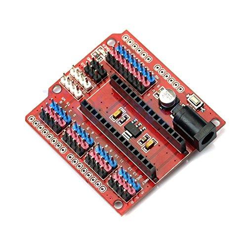 Board Shield - HiLetgo Nano I/O Expansion Sensor Shield for Arduino UNO R1 Nano 3.0 Duemilanove 2009