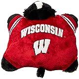 Fabrique Innovations NCAA Pillow Pet, Wisconsin