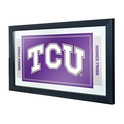 NCAA Texas Christian University Framed Logo Mirror (Christian Texas University)