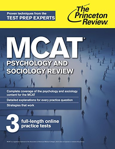 MCAT Psychology and Sociology Review: New for MCAT 2015 (Graduate School Test Preparation) Pdf