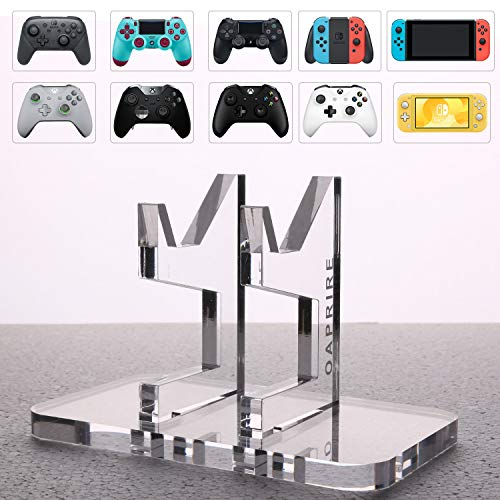 OAPRIRE Universal Controller Stand Holder - Fits Modern and Retro Game Controllers - Perfect Display and Organization - Limited Edition Handcrafted Controller Accessories with Crystal Texture