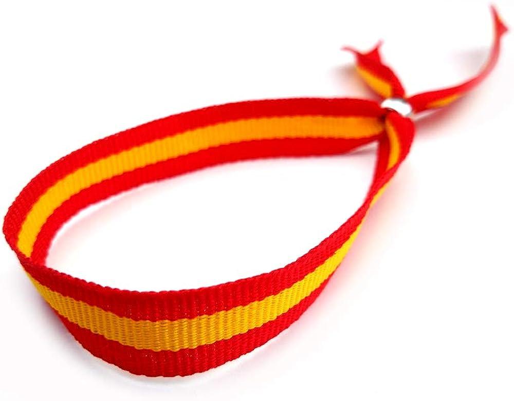 vendopolis Pulsera Cinta Textil Bandera España Española Cierre ...