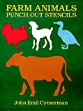 Farm Animals Punch-Out Stencils