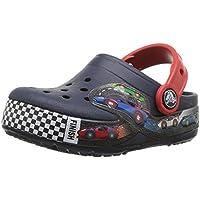 Crocs Kids' Crocband Fun Lab Light-up Race Car Clog