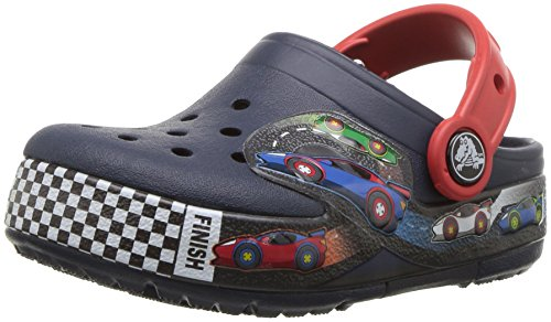 Crocs Crocband Fun Lab Woody Light-up Clog, Navy Blue, 9 M US Toddler (1-4 Years) by Crocs