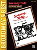 Sweeney Todd (The Demon Barber of Fleet Street) (Broadway's Best): 6 Selections from the Musical (Easy Piano) by Stephen Sondheim (12-Jan-2007) Paperback