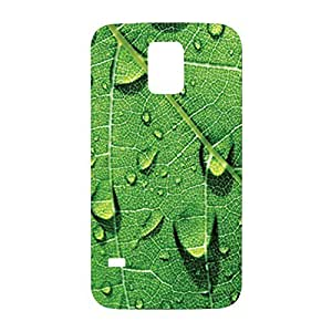 Green Leaf Snap on Plastic Case Cover Compatible with Samsung Galaxy S5 GS5