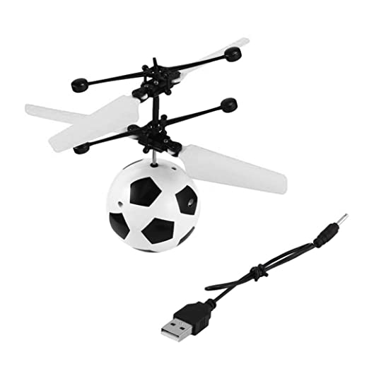 Helicóptero de suspensión, sensor de mano volador, juguete de ...