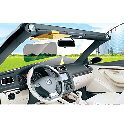 tinxi® Auto Blendschutz Sonnenschutz Nachtsicht Sichtschutz Sonnenblende Sonnenbrille
