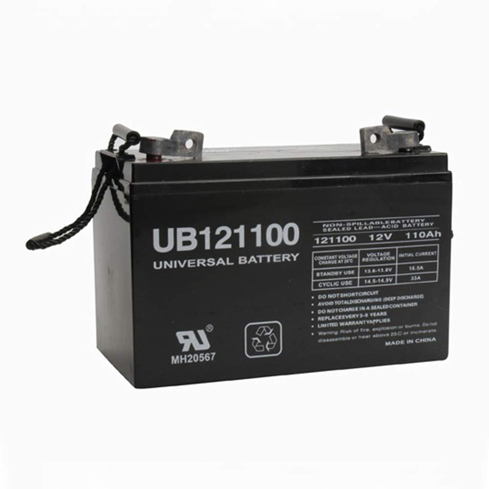 D5751 UB121100 GROUP 27 - 12V 110AH FL1 TERMINALS SLA BATTERY