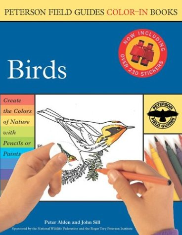 Birds (Peterson Field Guide Color-In Book)