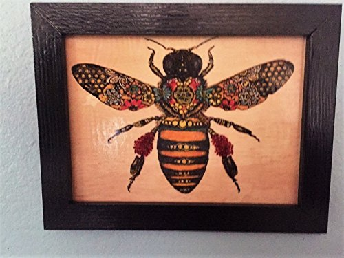 Bee Art Plaque by American Green Crafts