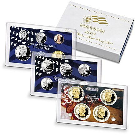 - 2007 S United States Proof Set Proof Coins