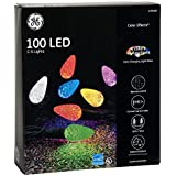 GE Color Effects 100-Count 33-ft Multi-Function Color Changing C5 LED Plug-in Indoor/Outdoor Christmas String Lights ENERGY STAR