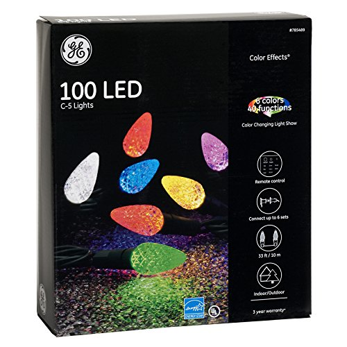Ge Led Changing Christmas Lights