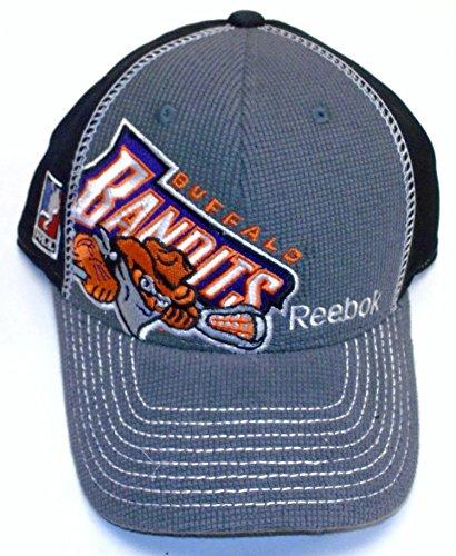 (Reebok NLL Buffalo Bandits Tactel Flex Hat - S/M - M237Z)