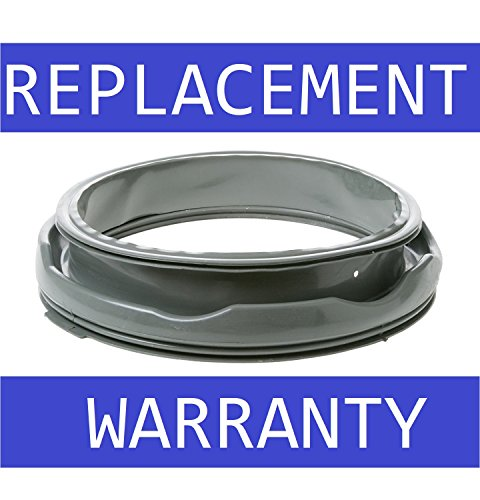 Price comparison product image NEW WH08X10036 Washing Machine Washer Door Gasket Seal Bellow for GE Replaces AP4334050 PS1766023 AH1766023 EA1766023 WH08X10040 LP17144 WH08X10022 - 1 YEAR WARRANTY