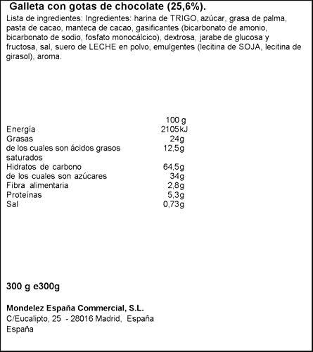 Chips Ahoy! Cookies - 300 g: Amazon.es: Alimentación y bebidas