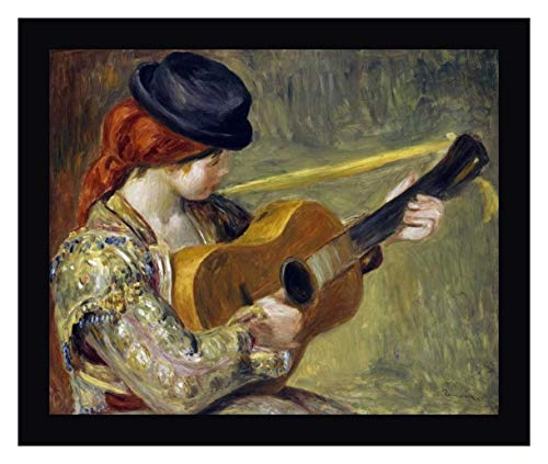 (Girl with a Guitar, 1897 by Pierre-Auguste Renoir - 27