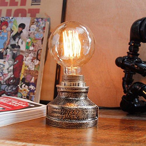 Cheap Modeen 7 08in Vintage Industriel Fer Table Lampe Steampunk