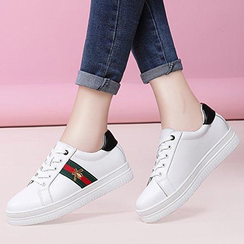 NGRDX&G Zapatos De Mujer Zapatos Casuales Zapatos White Black