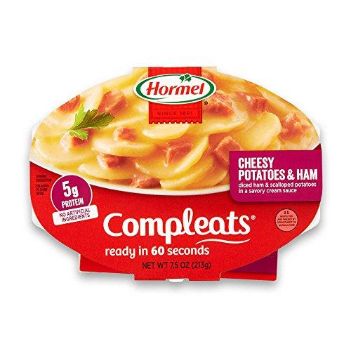 Hormel Compleats Cheesy Potatoes & Ham, 7.5 Ounce