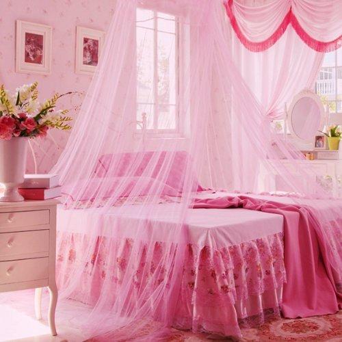 Pink Mosquito Net - 3