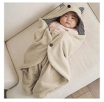 kimberleystore Creative Little Monster - Saco de dormir para bebé recién nacido (caqui): Amazon.es: Bebé