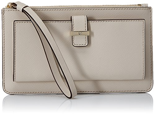 kate spade new york Cedar Street Karolina Wristlet, Crisp Linen, One Size by Kate Spade New York
