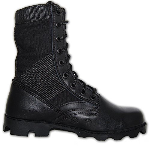 KRAZY SHOE ARTISTS G.I. COMBAT Jungle Boot, Men in Black Size 12