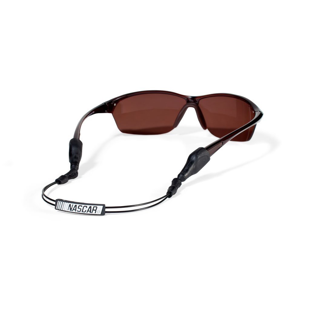 Croakies ARC Endless Nascar, Silver XL 16'', Sunglass Retainers by Croakies