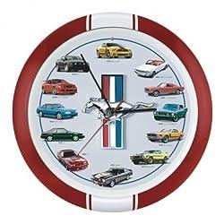 Mark Feldstein & Associates History of Mustang Sound Clock, 13, Red