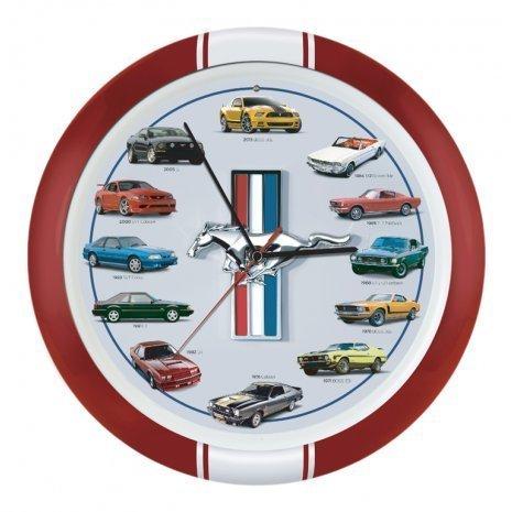 mustang car clock - 6