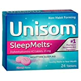 UNISOM SLEEP MELTS Size: 24