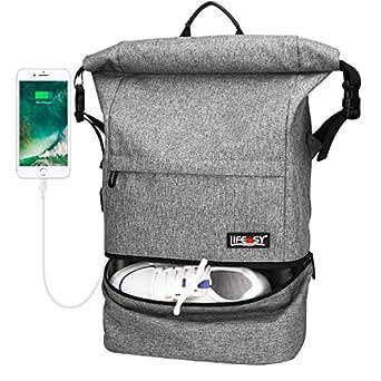 Amazon.com: Travel Backpack, Lifeasy Waterproof Anti-Theft