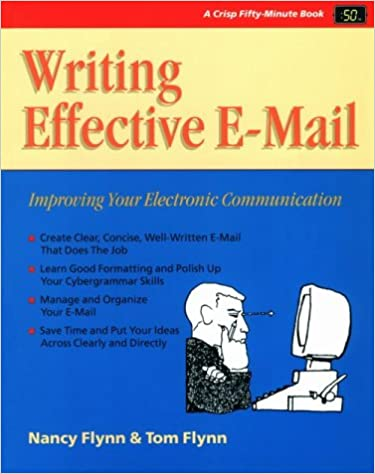 Téléchargement ebook format epub Writing Effective E-Mail: Crisp 50-Minute Book (Fifty-Minute Series,) in French CHM 1560525150