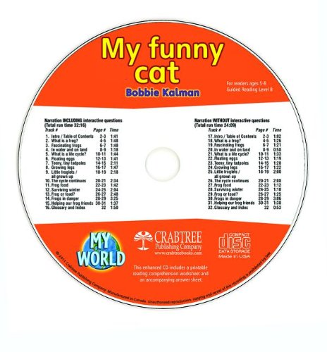 My Funny Cat (My World) by Crabtree Pub Co