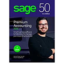 Sage Software Sage 50 Premium Accounting 2019 U.S. 1-User