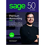 Sage 50 Premium Accounting 2019 – Advanced Accounting Software – Safe and Secure – Inventory Tracker – Manage Jobs & Expenses – Multi-User Capable – Easy Integration with Microsoft Productivity Tools