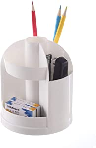 Multi-Function 360°Rotating Pen Pencil Holder Desk Organizer Multi-Purpose Office Stationery Case Cosmetic Storage Box