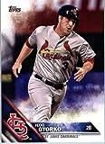2016 Topps Update #US257 Jedd Gyorko St. Louis Cardinals Baseball Card in Protective Screwdown Display Case