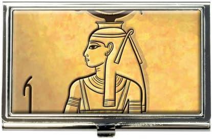 HATHOR antiguo Egipto Diosa negocio tarjeta de Crédito Titular Caso: Amazon.es: Oficina y papelería