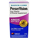 Cheap Bausch & Lomb PreserVision SoftGels, 120 Count Per Bottle