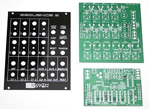 Synthrotek Sequence 8 Analog 8-Step Sequencer PCB and Panel