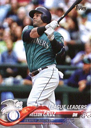 2018 Topps #253 Nelson Cruz Seattle Mariners Baseball Card