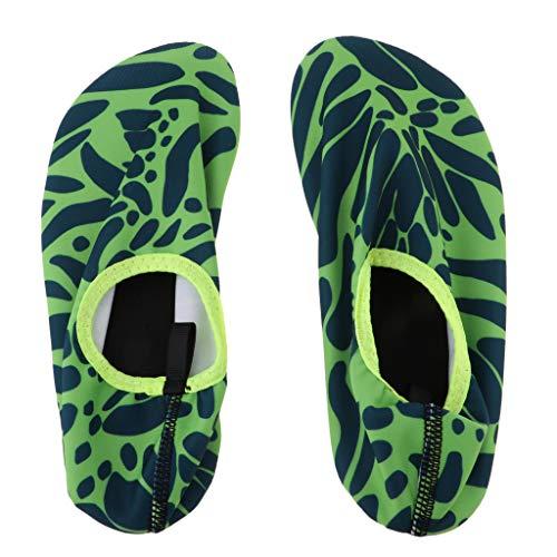 D'eau 30 Chaussures Chaussons Aquatique De Plage Vert Et Antidérapante Ipotch 31 Sport Poids Léger Piscine Xxs Aq6wTC5