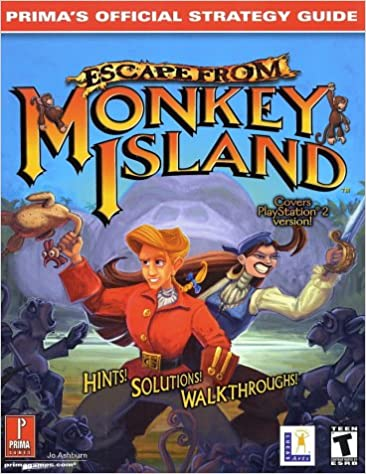 Escape From Monkey Island (PS2) (Prima's Official Strategy