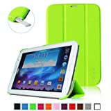 Fintie Ultra Slim Lightweight Smart Shell Standing Case with Auto Sleep/Wake Feature for Samsung Galaxy Note 8.0 inch Tablet GT-N5100 / N5110 - Green