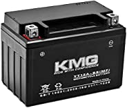 KMG YT12A-BS Sealed Maintenance Free Battery High Performance 12V SMF OEM Replacement Powersport Motorcycle AT